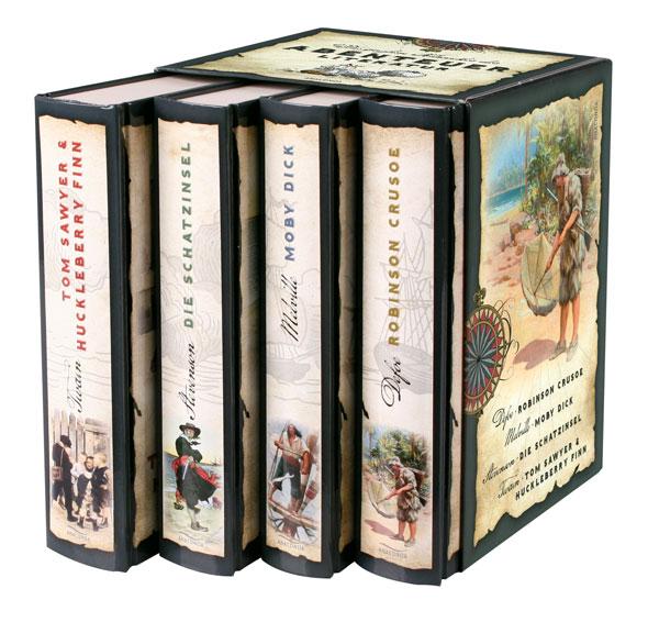 Die großen Klassiker der Abenteuerliteratur