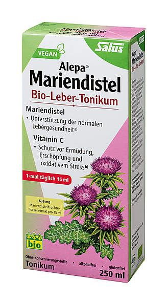 Alepa® Mariendistel Bio-Leber- Tonikum - vegan