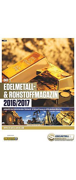 Edelmetall- und Rohstoffmagazin 2016/2017 von    Kopp Verlag