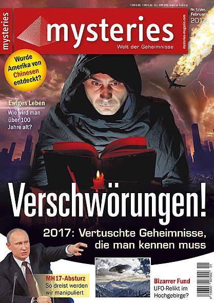 mysteries Ausgabe Nr.1 Januar/Februar 2017