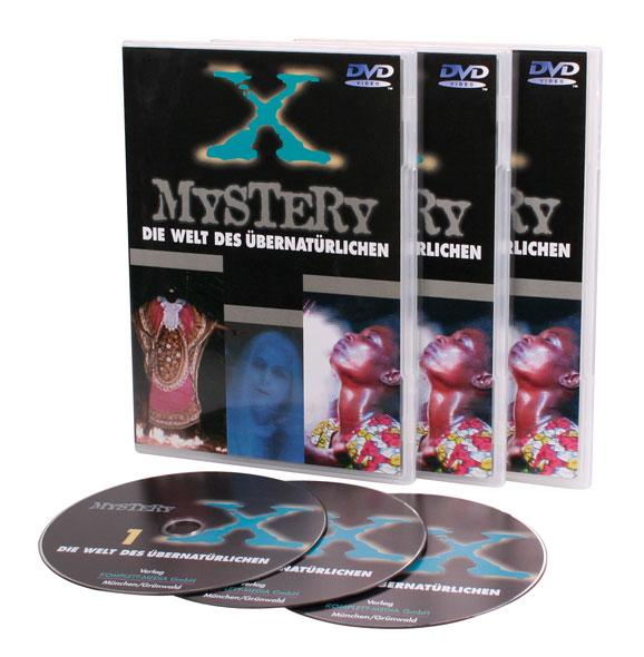 Mystery X: Die geheimnisvolle Welt des Übernatürlichen -3DVDs