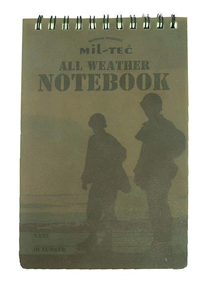 Mil-Tec® Notizblock wasserfest  - klein