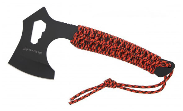BLACK ICE Axt Nomad mit Paracord
