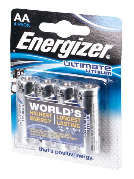 Energizer L91 Ultimate Lithium AA (Mignon)
