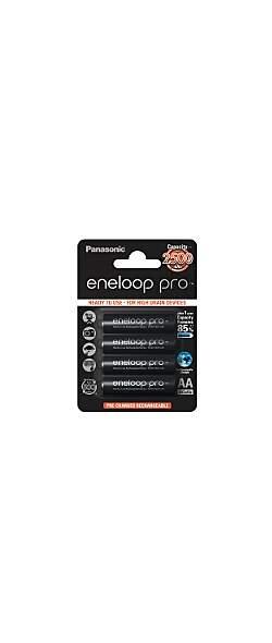 eneloop Pro AA 2500 mAh 4 Blisterpack - Der Outdoor Akku