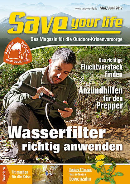 Save your life Ausgabe Mai/Juni 2017