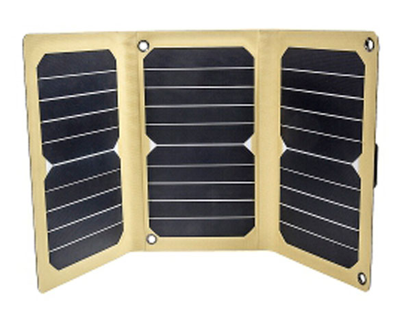 12 Survivors® SolarFlare 16 mit 15,9 Watt - Solarpanel