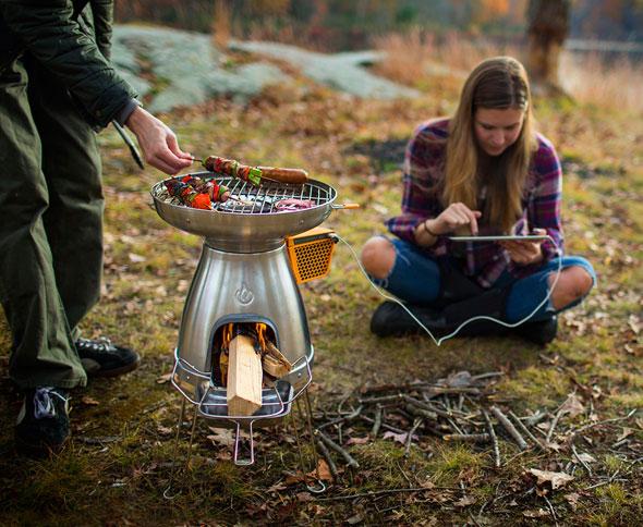 Camping & Outdoor Gaskocher, Backofen & BBQs BioLite BaseCamp & FlexLight