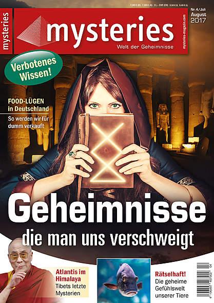 mysteries- Ausgabe Nr. 4 Juli/August 2017