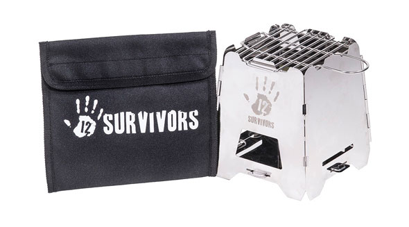 12 Survivors® Off-Grid Survival Stove - Hobo Ofen - USA Import / Bild: Kopp-Verlag
