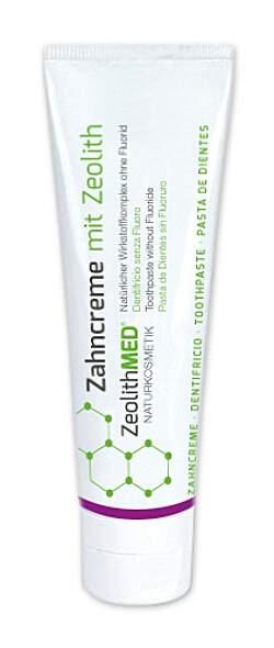 Zeolith MED® Zahncreme - 75ml - Zahnpasta ohne Fluorid