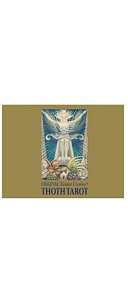 Thoth Tarot - Aleister Crowley Premium, Tarotkarten - Mängelartikel