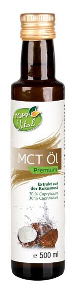 Kopp Vital MCT Öl - vegan
