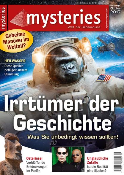 mysteries - Ausgabe Nr. 5 Septermber/Oktober 2017