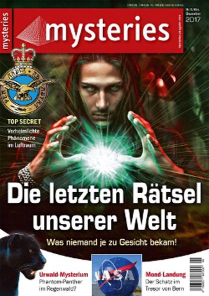 mysteries Ausgabe Nr.6 November/Dezember 2017