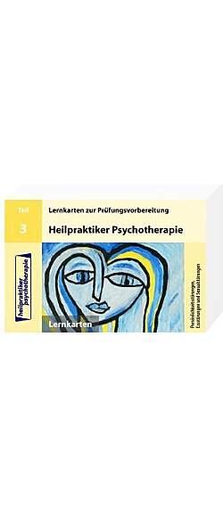 Heilpraktiker Psychotherapie Prüfungsvorbereitung Teil 3 - Mängelartikel