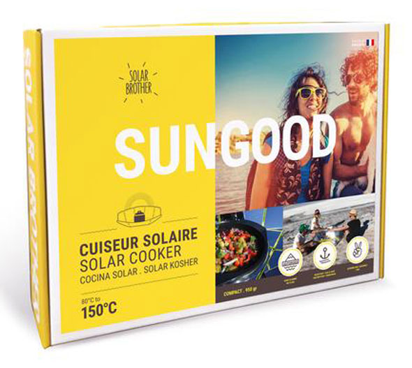 Solar Brother - Sungood Solar Kocher - bis zu 150°C