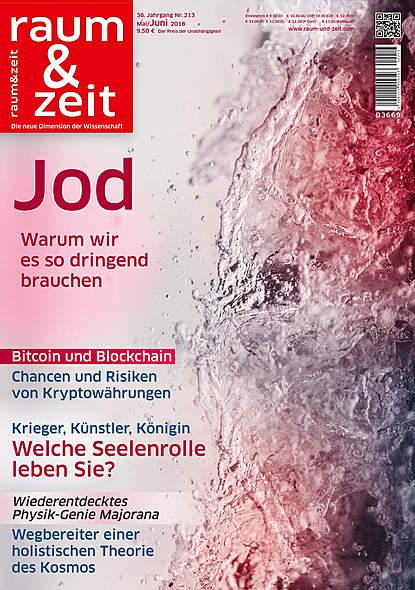 Raum & Zeit Nr.213Ausgabe Mai/Juni 2018