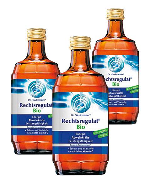 Rechtsregulat® Bio 3er-Pack - vegan