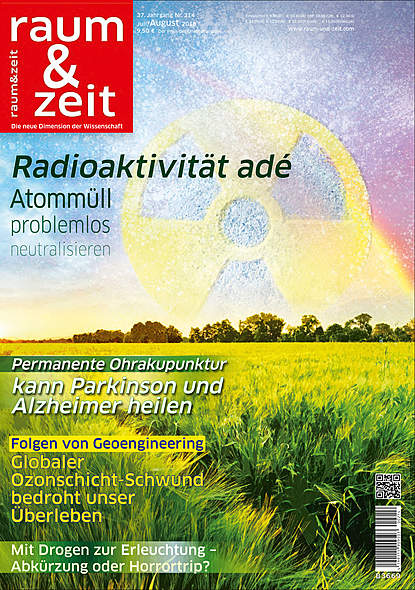 Raum & Zeit Nr. 214Ausgabe Juli/August 2018