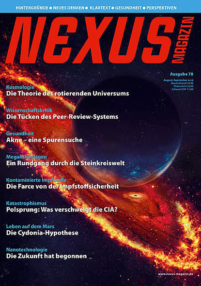 Nexus-Magazin Ausgabe Nr.78 August/September 2018