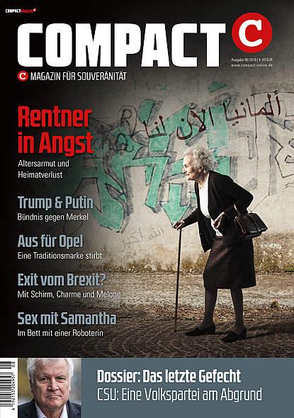 Compact Magazin AusgabeAugust 2018