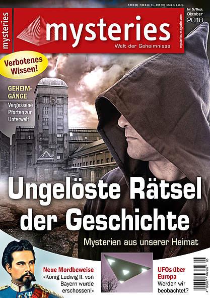 mysteries - Ausgabe Nr. 5 September/Oktober 2018