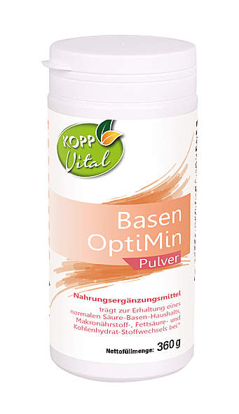 Kopp Vital Basen OptiMin Pulver - vegan