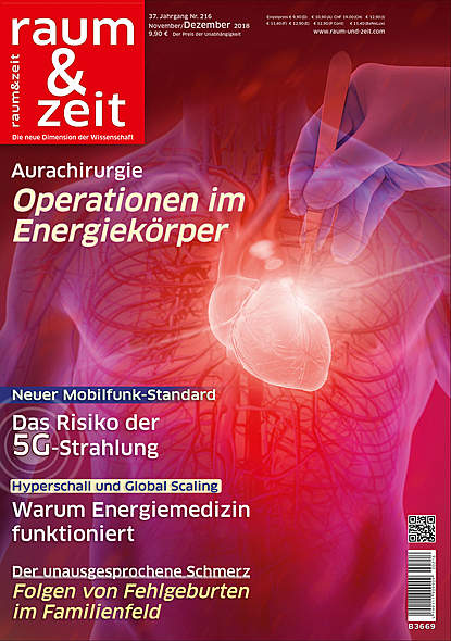 Raum & Zeit Nr. 216 - Ausgabe November/Dezember 2018