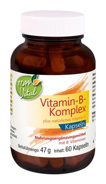 Kopp Vital Vitamin-B-Komplex, Kapseln - vegan