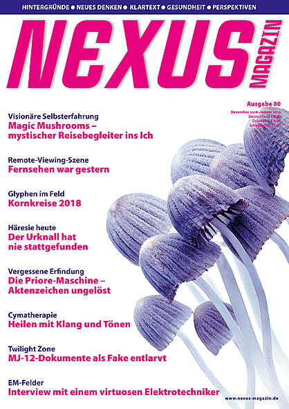 Nexus-Magazin Ausgabe Nr.80 Dezember 2018/Januar 2019