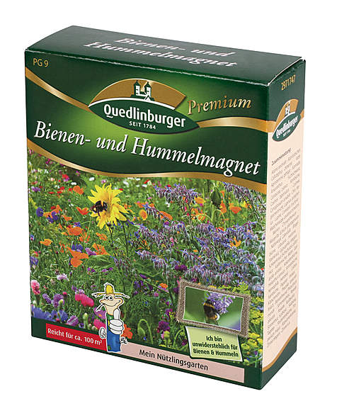 Saatgut »Bienen und Hummelmagnet«