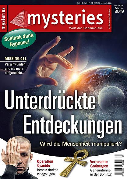 mysteries - Ausgabe Nr. 1 Januar/Februar 2019