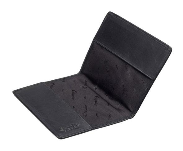 Esquire RFID Reisepassetui in schwarz