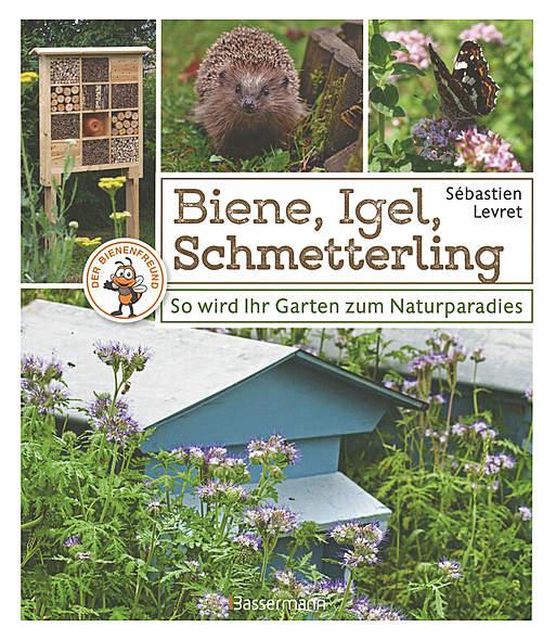 Biene, Igel, Schmetterling