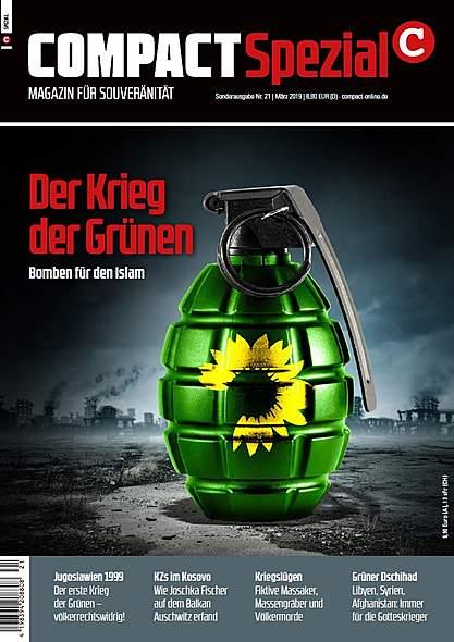 Compact Spezial Nr.21: Der Krieg der Grünen