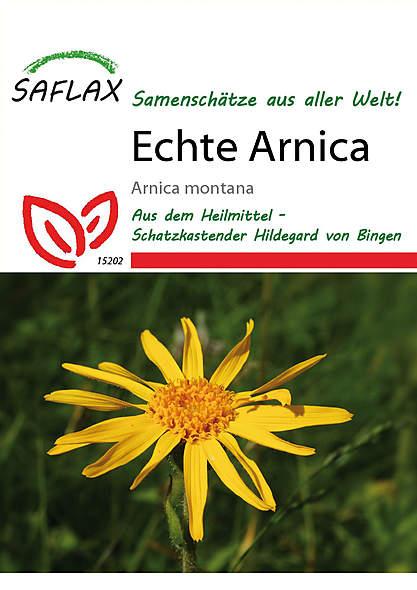 Mein Heilpflanzengarten - Echte Arnica