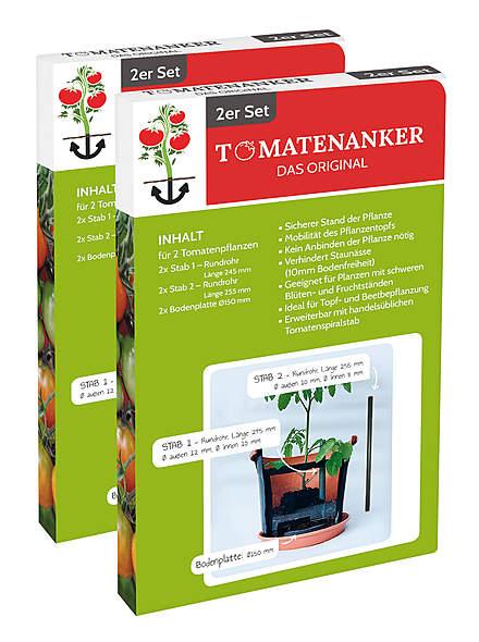 Tomatenanker 2 × 2er-Set