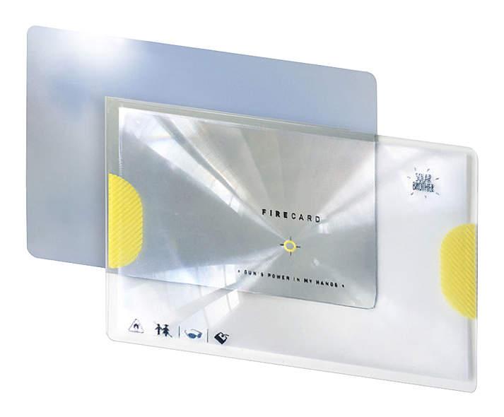 SOLAR Feuer - Adventure Kit mit Solarfeuerzeug und Signalspiegel