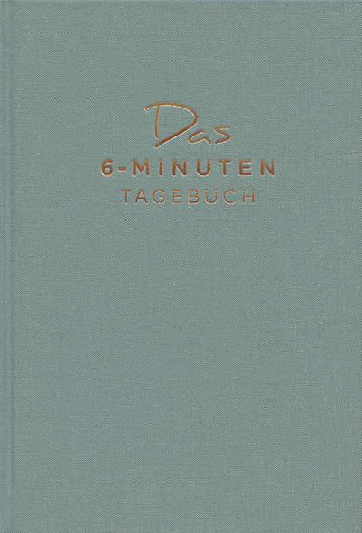 Das 6-Minuten-Tagebuch (aquarellblau)