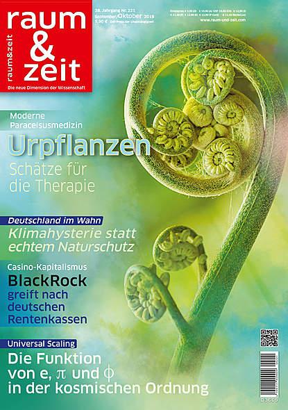 Raum & Zeit Nr. 221Ausgabe September/Oktober 2019
