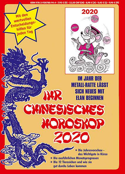 Ihr Chinesisches Horoskop 2020 - Mängelartikel