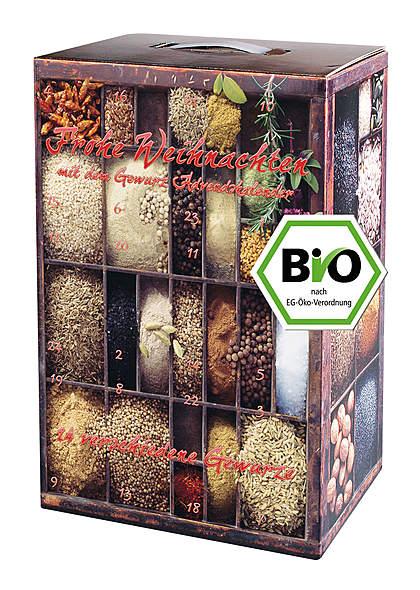 Bio-Gewürz-Adventskalender