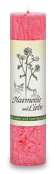 Allgäuer Heilkräuter-Kerze »Harmonie & Liebe«