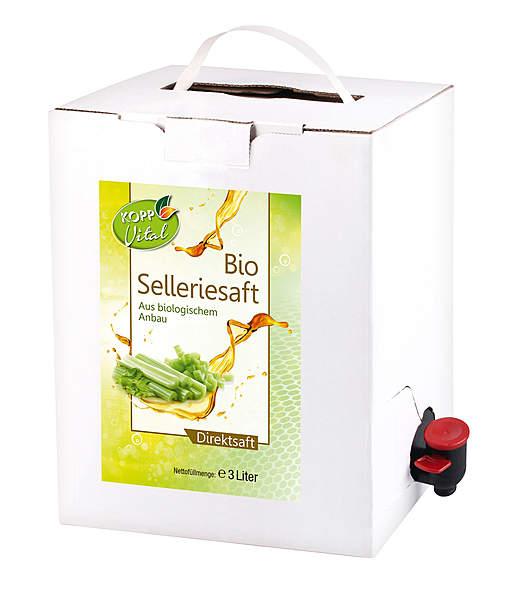 Kopp Vital Bio-Selleriesaft 3 Liter