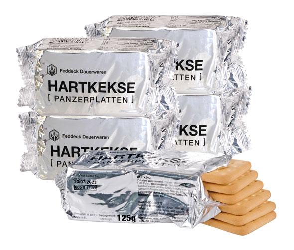 5er Pack BW Hartkeks (Panzerplatten) - je 125g