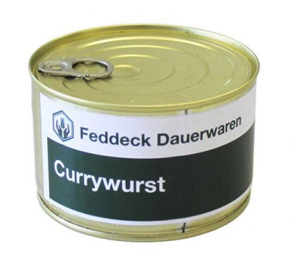 Vollkonserve Currywurst - 400g