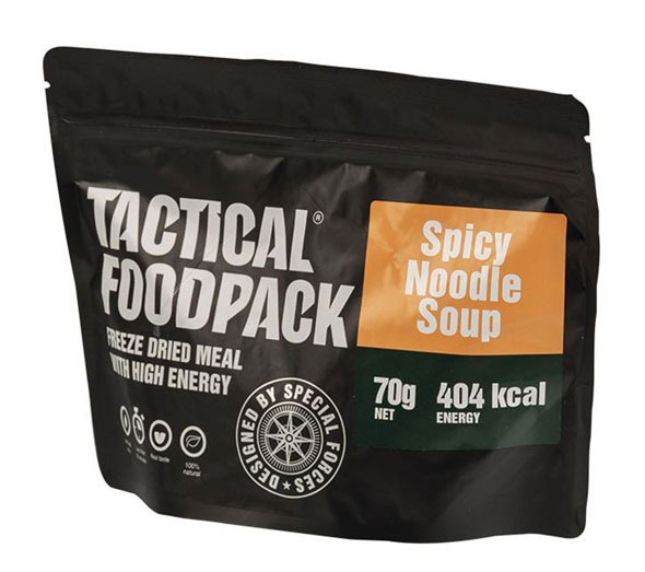 Tactical Foodpack® würzige Nudelsuppe