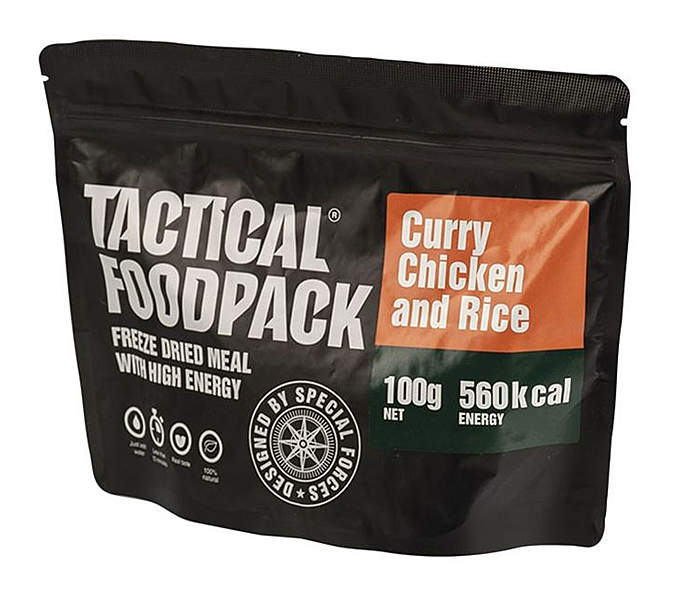 Tactical Foodpack® Curry-Hühnchen mit Reis