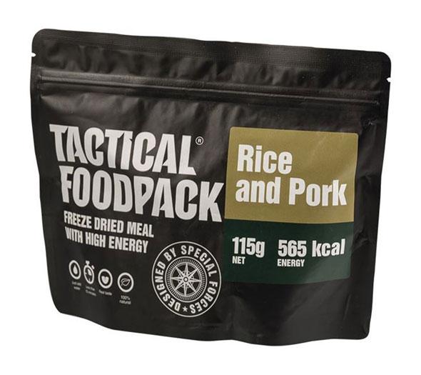 Tactical Foodpack® Reis mit Schweinefleisch
